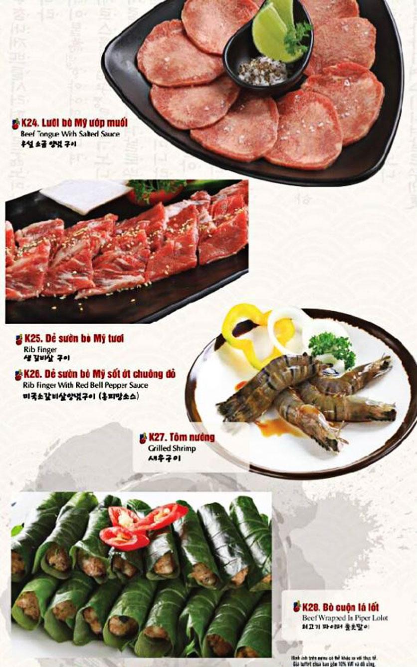 Menu King BBQ Buffet - Nguyễn Văn Quá  10