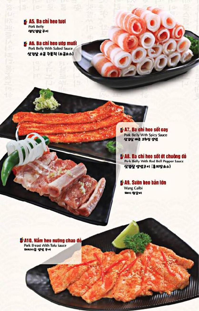 Menu King BBQ Buffet - Nguyễn Văn Quá  15