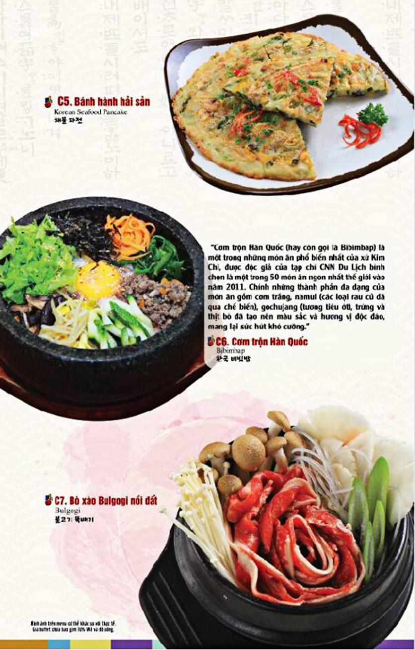 Menu King BBQ Buffet - Nguyễn Văn Quá  6