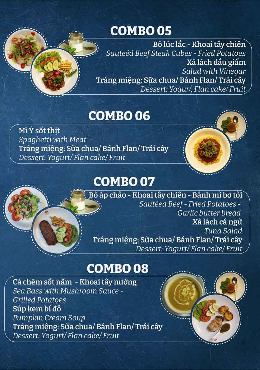 Menu Buffet Khách Sạn Hương Sen  3