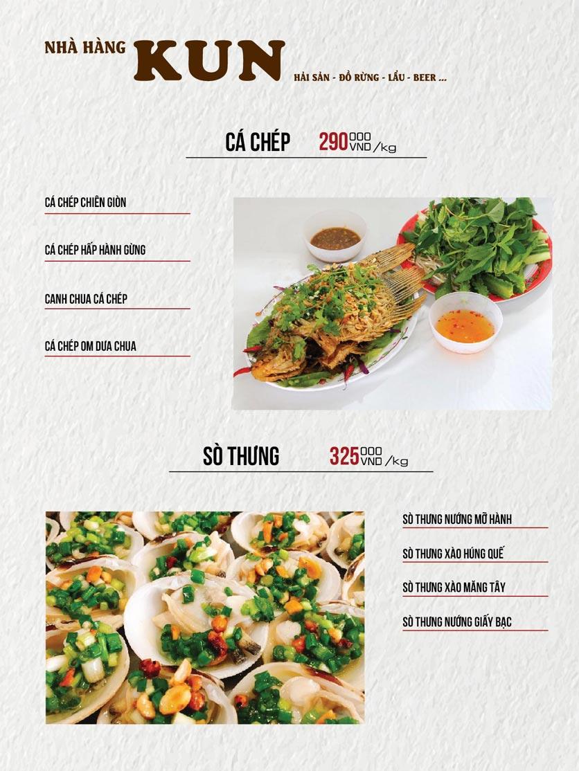 Menu Thế Giới Bia KUN – Quang Trung  14