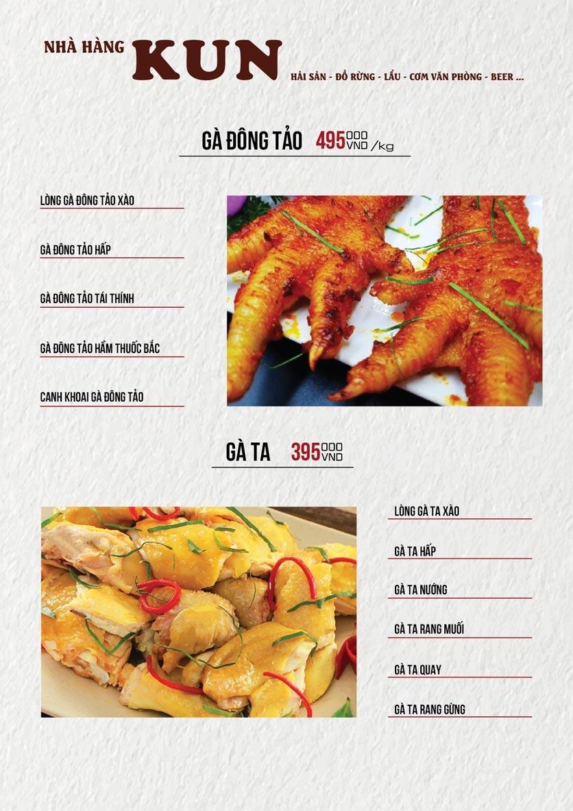Menu Thế Giới Bia KUN – Quang Trung  17