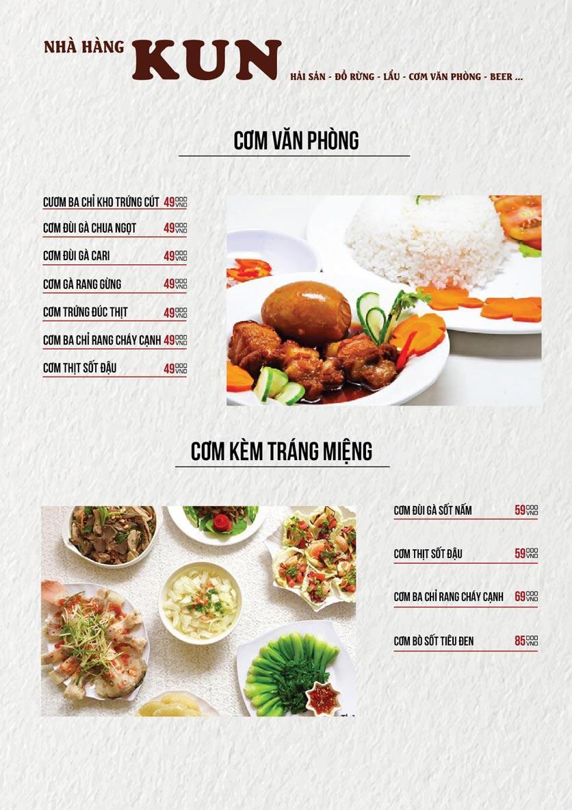 Menu Thế Giới Bia KUN – Quang Trung  21