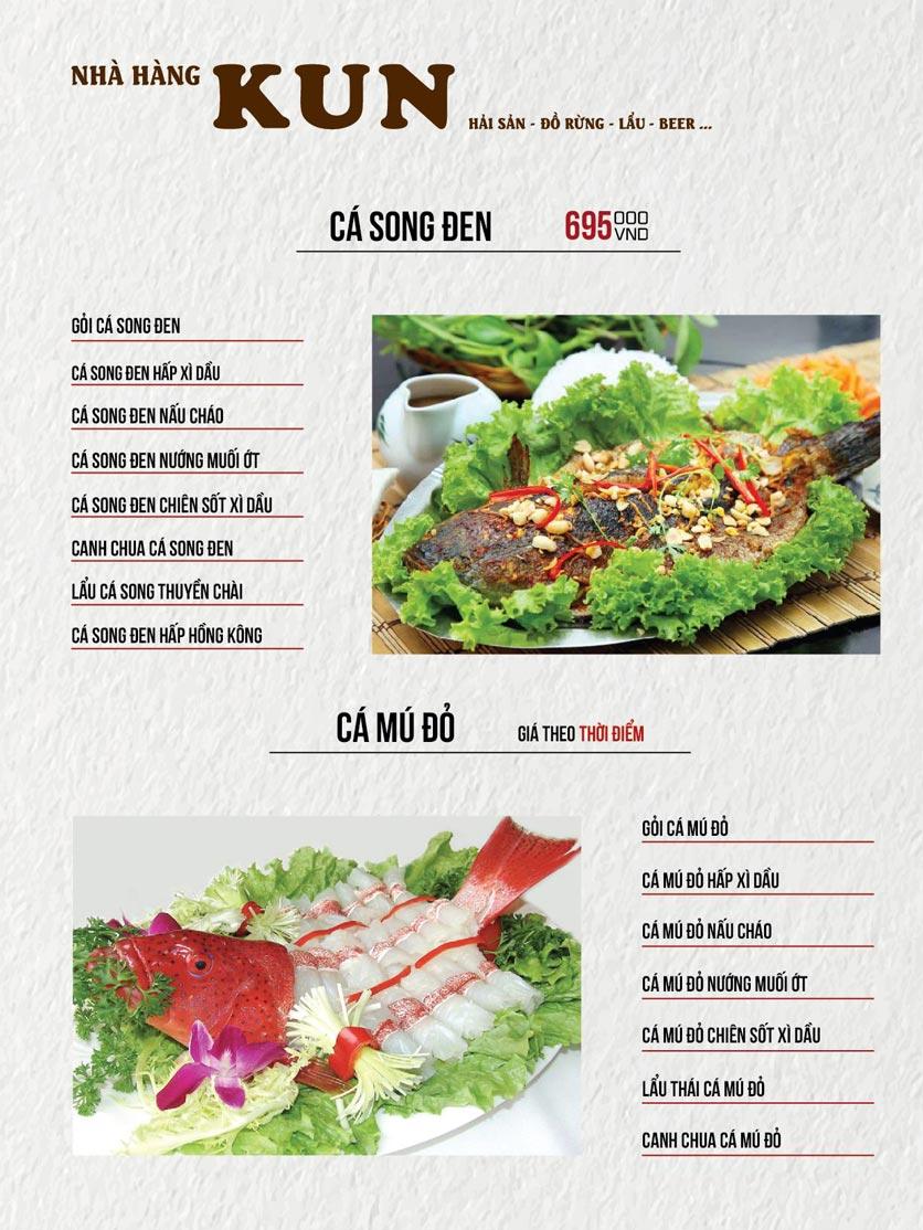 Menu Thế Giới Bia KUN – Quang Trung  10