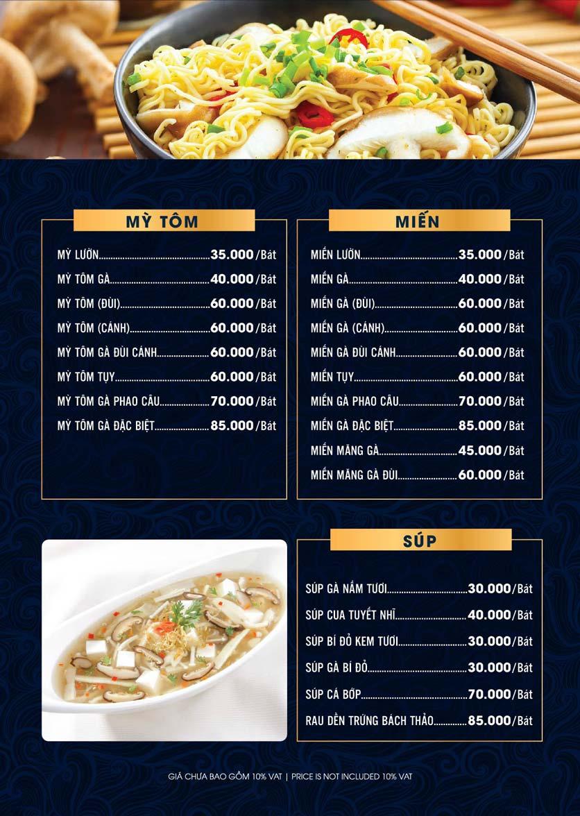 Menu Lahata Restaurant - Dương Đình Nghệ 11