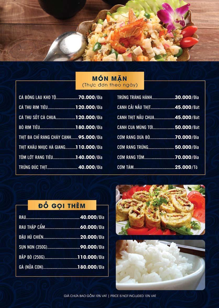 Menu Lahata Restaurant - Dương Đình Nghệ 13