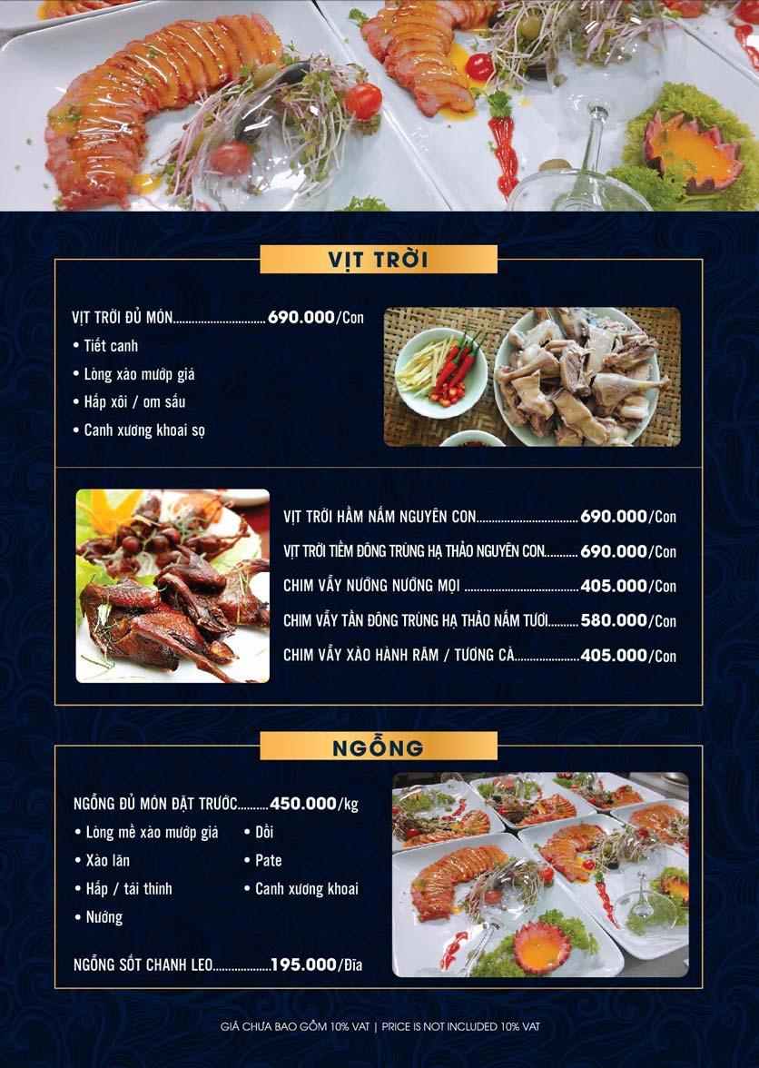 Menu Lahata Restaurant - Dương Đình Nghệ 14