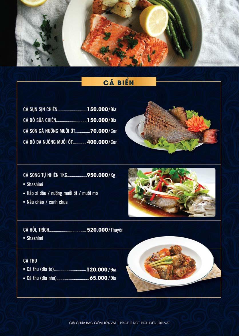 Menu Lahata Restaurant - Dương Đình Nghệ 16