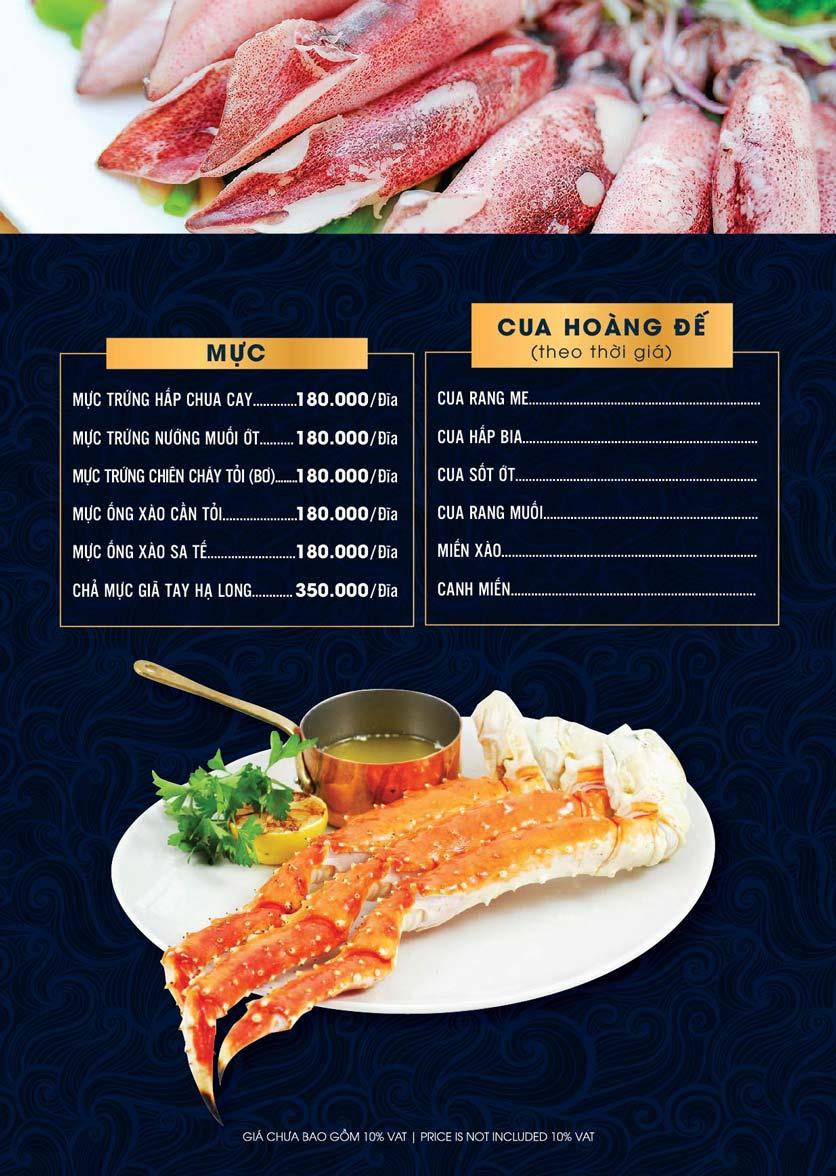 Menu Lahata Restaurant - Dương Đình Nghệ 17