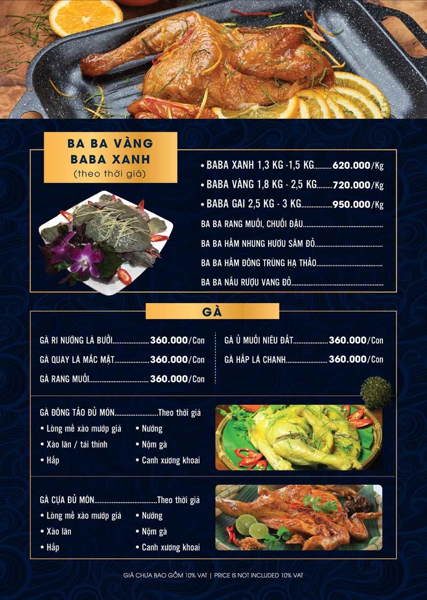 Menu Lahata Restaurant - Dương Đình Nghệ 19