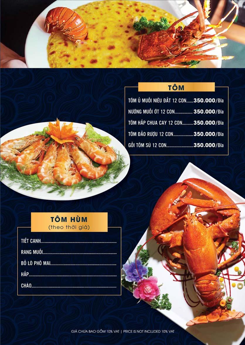 Menu Lahata Restaurant - Dương Đình Nghệ 2