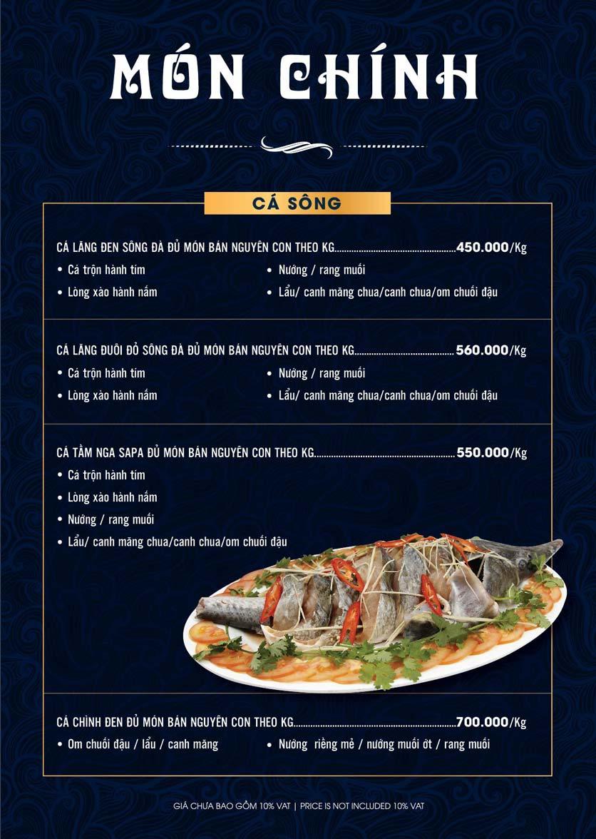 Menu Lahata Restaurant - Dương Đình Nghệ 20