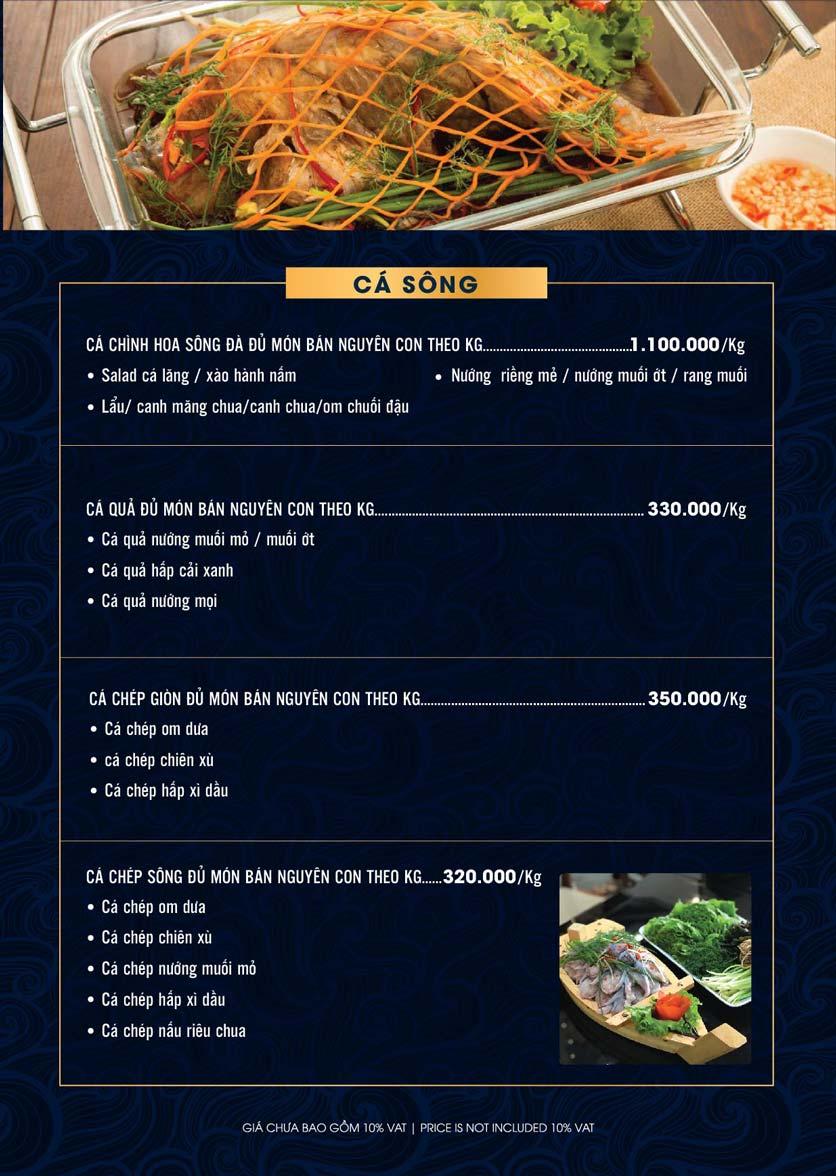 Menu Lahata Restaurant - Dương Đình Nghệ 3