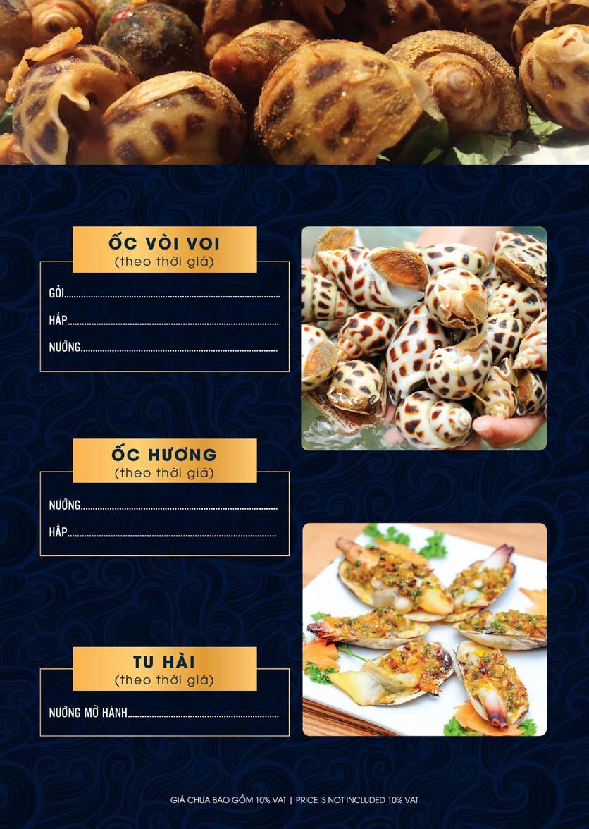 Menu Lahata Restaurant - Dương Đình Nghệ 4