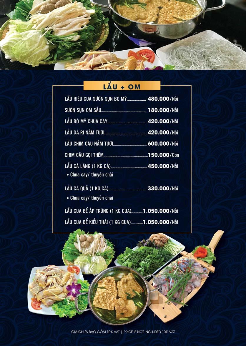 Menu Lahata Restaurant - Dương Đình Nghệ 5