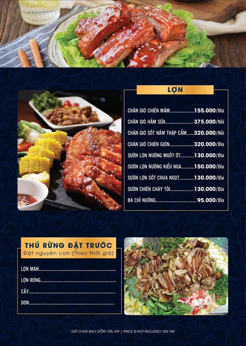 Menu Lahata Restaurant - Dương Đình Nghệ 6