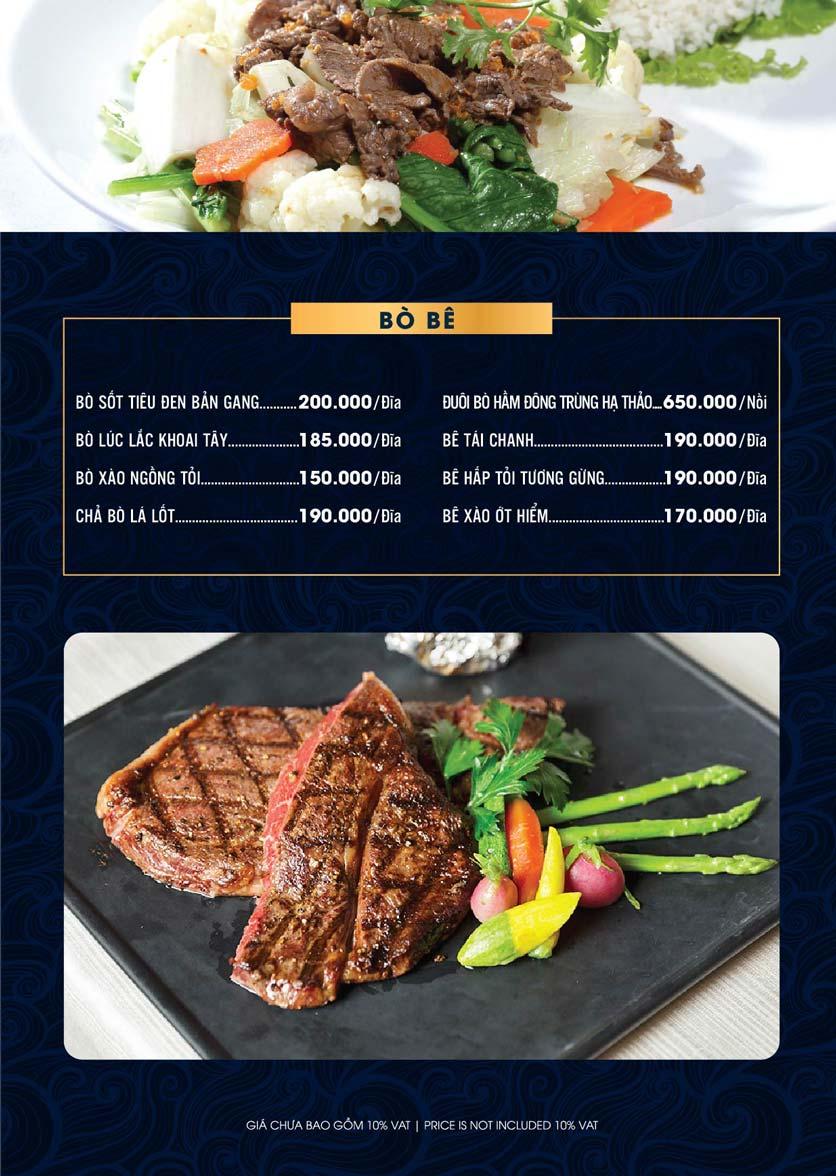 Menu Lahata Restaurant - Dương Đình Nghệ 7