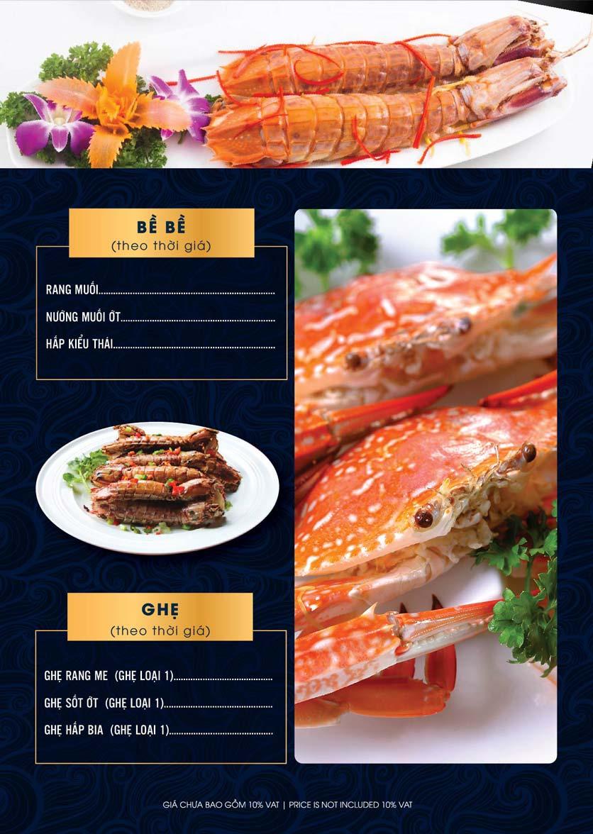 Menu Lahata Restaurant - Dương Đình Nghệ 8