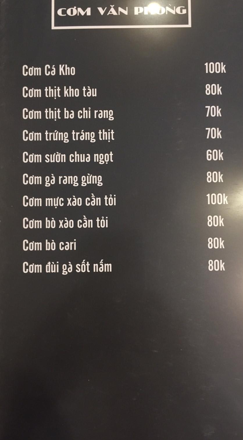 Menu Lam Huyền - Đặc sản lẩu hơi nồi đá - Hoàng Quốc Việt  9