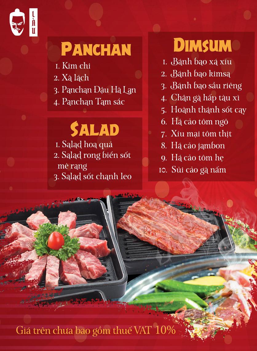 Menu Làu - Buffet Lẩu Nướng - Phan Kế Bính 1