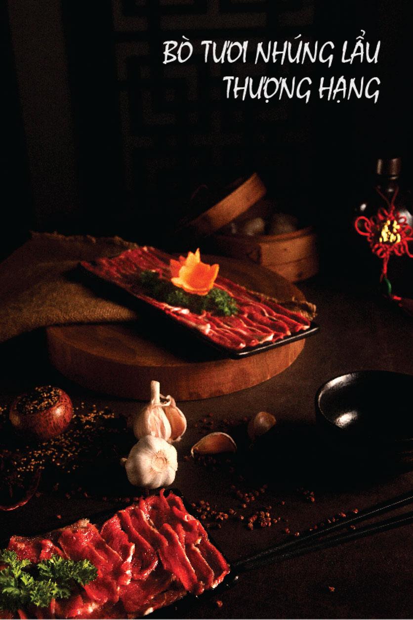 Menu Lẩu Bò Trung Hoa - Thái Hà  4