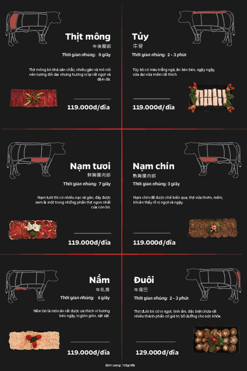 Menu Lẩu Bò Trung Hoa – Yên Phụ   5