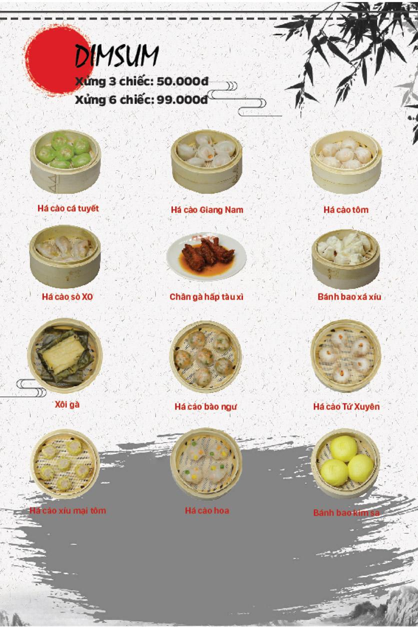 Menu Lẩu Bò Trung Hoa - Thái Hà  8