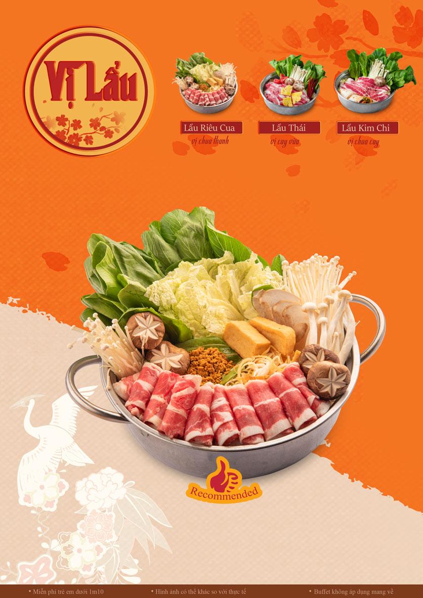 Menu Lẩu Phan - Thái Hà 1