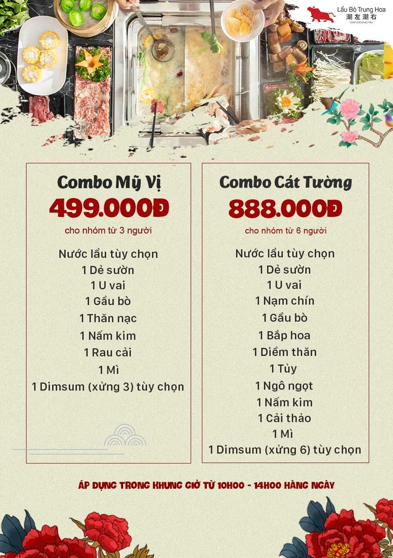 Menu Lẩu Bò Trung Hoa - Thái Hà  2