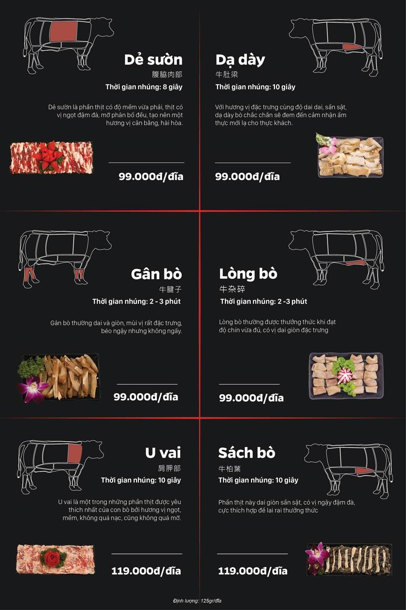 Menu Lẩu Bò Trung Hoa – Yên Phụ   4