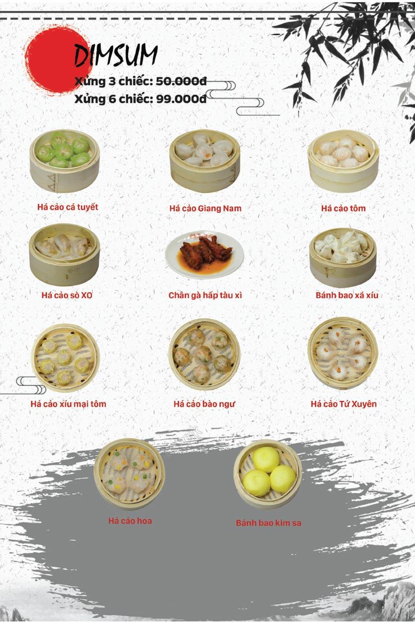 Menu Lẩu Bò Trung Hoa - Thái Hà  9