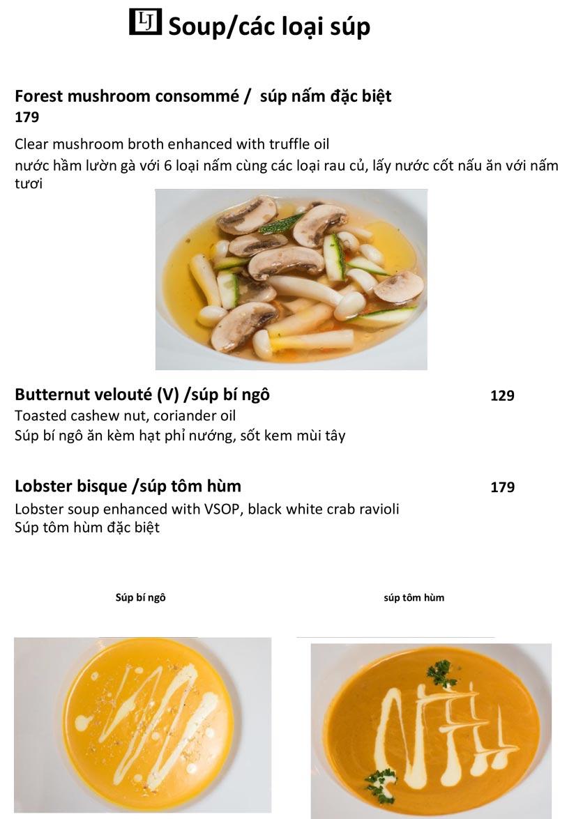 Menu Le Jardin – French Bistro - Quảng An   4