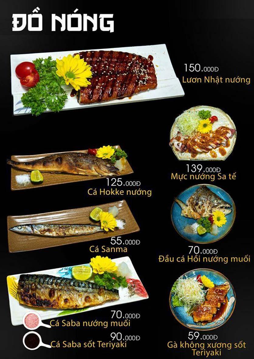 Menu Let's Sushi - Quốc Tử Giám 15