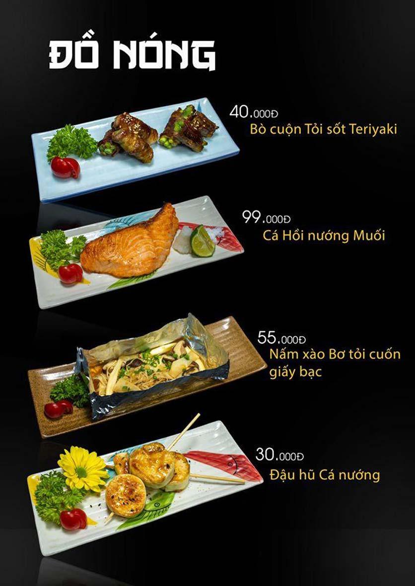 Menu Let's Sushi - Quốc Tử Giám 17