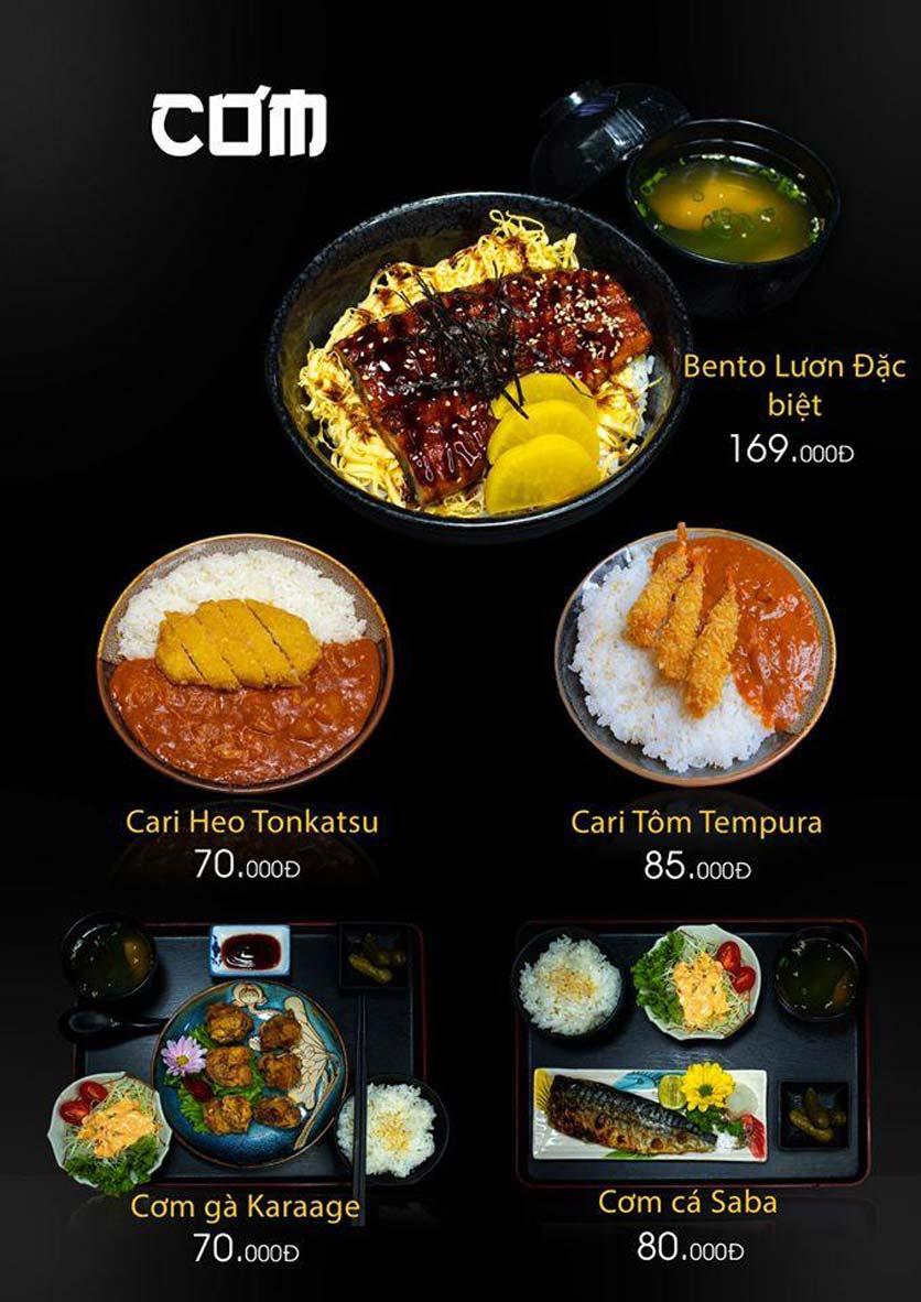 Menu Let's Sushi - Quốc Tử Giám 18