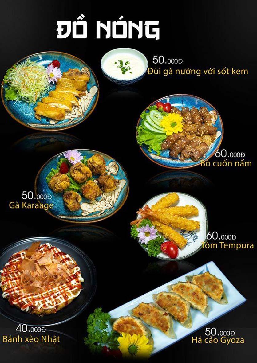 Menu Let's Sushi - Quốc Tử Giám 19