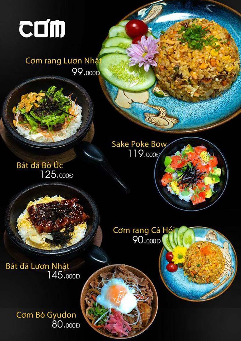 Menu Let's Sushi - Quốc Tử Giám 20