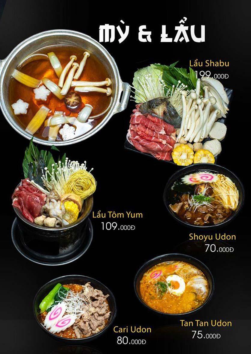 Menu Let's Sushi - Quốc Tử Giám 21
