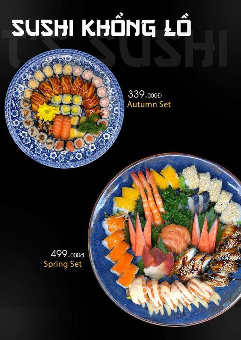Menu Let's Sushi - Quốc Tử Giám 4
