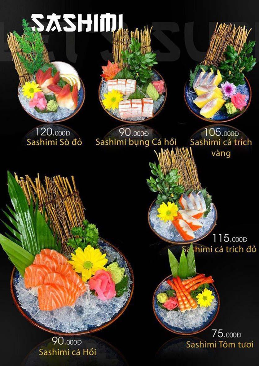 Menu Let's Sushi - Quốc Tử Giám 8