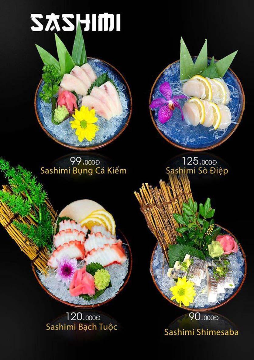 Menu Let's Sushi - Quốc Tử Giám 9