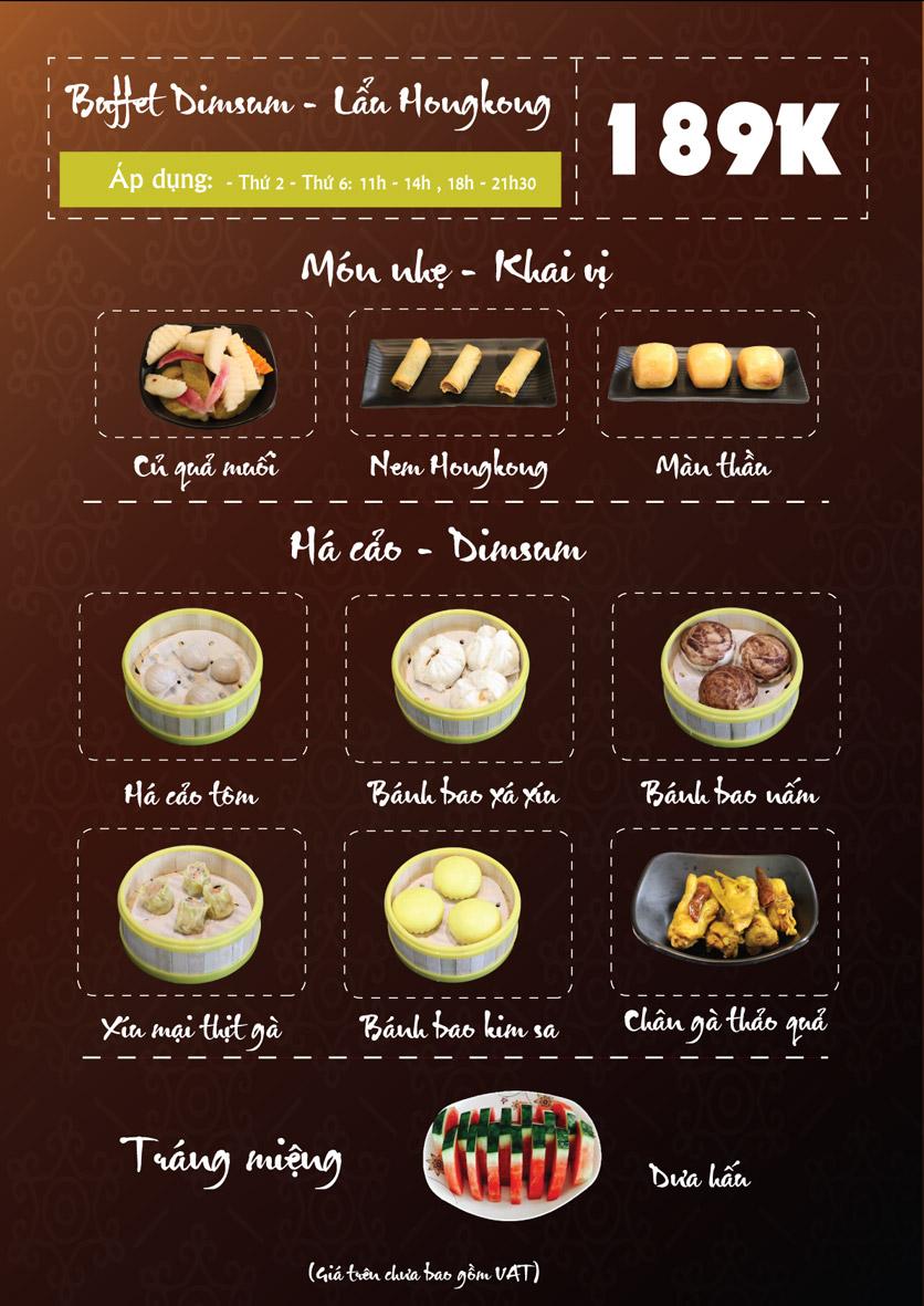 Menu Linh Nhạn Restaurant– Xuân Thủy 1