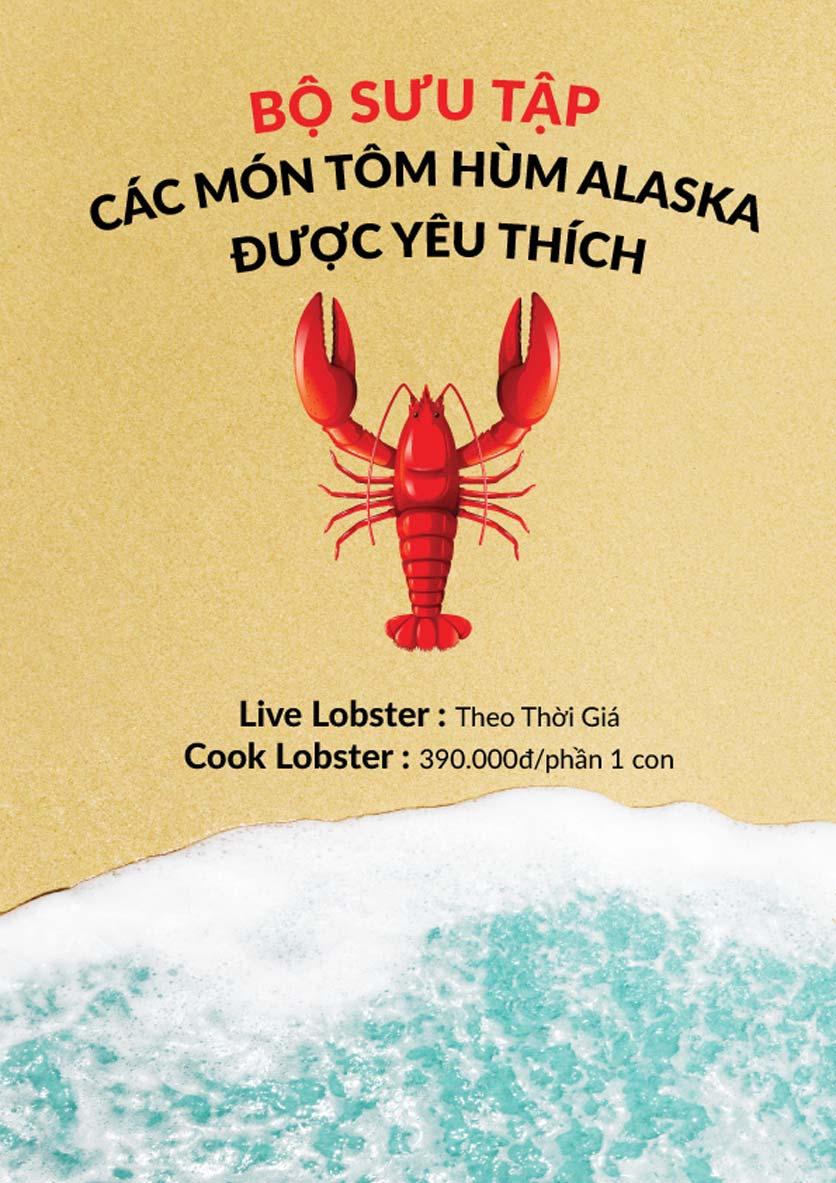 Menu Lobster Bay – Nhà hàng hải sản kiểu Mỹ – Nguyễn Tri Phương 2