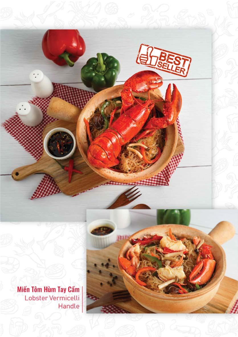 Menu Lobster Bay - Nhà Hàng Hải Sản Kiểu Mỹ - Kỳ Đồng 10