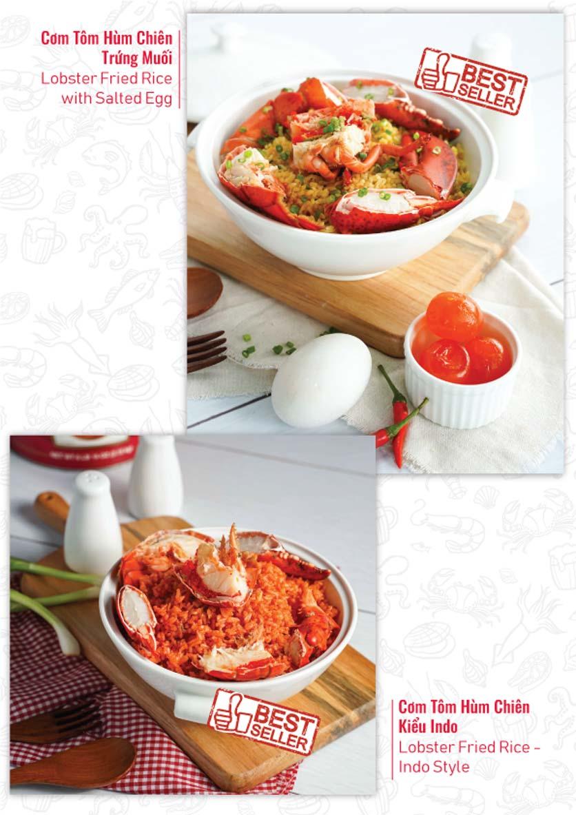 Menu Lobster Bay – Nhà hàng hải sản kiểu Mỹ – Nguyễn Tri Phương 14