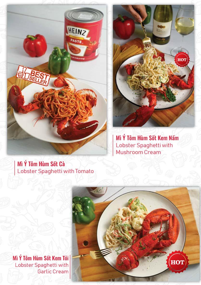 Menu Lobster Bay – Nhà hàng hải sản kiểu Mỹ – Nguyễn Tri Phương 15