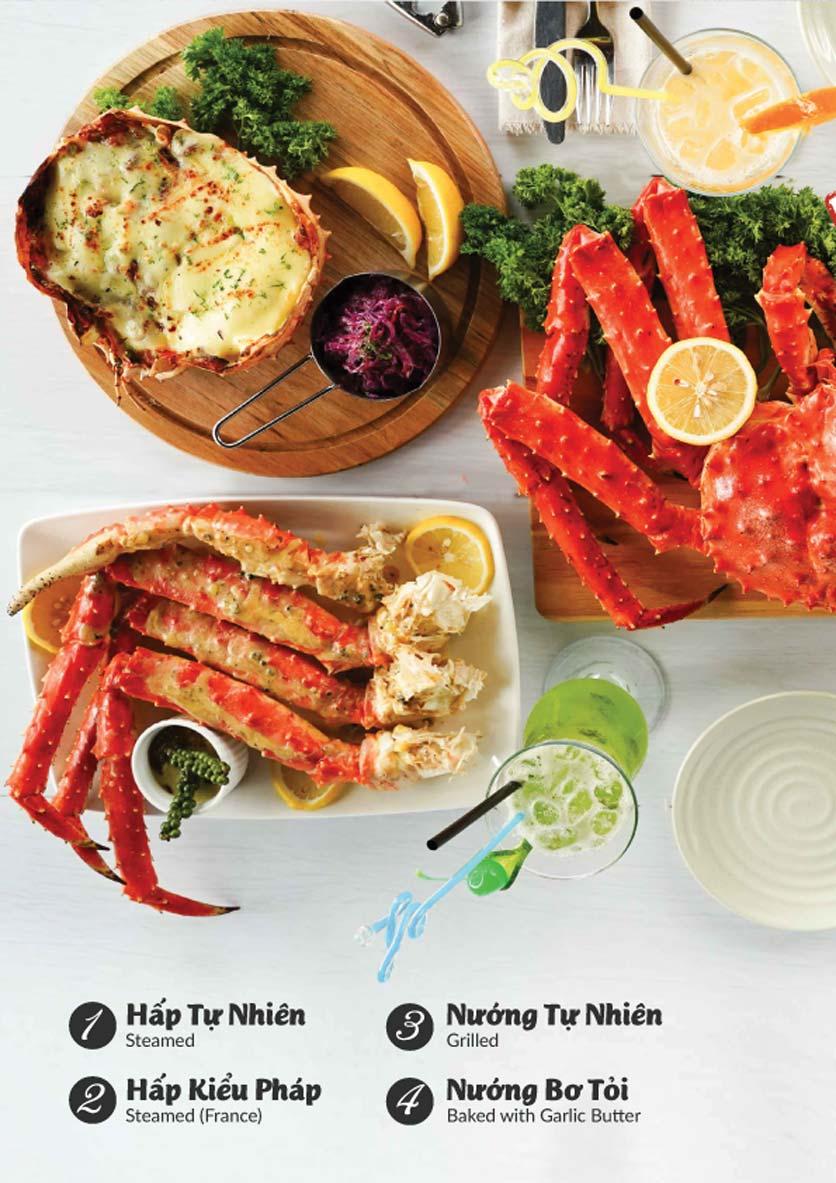 Menu Lobster Bay - Nhà Hàng Hải Sản Kiểu Mỹ - Kỳ Đồng 16