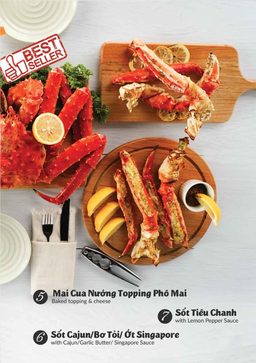 Menu Lobster Bay - Nhà Hàng Hải Sản Kiểu Mỹ - Kỳ Đồng 17