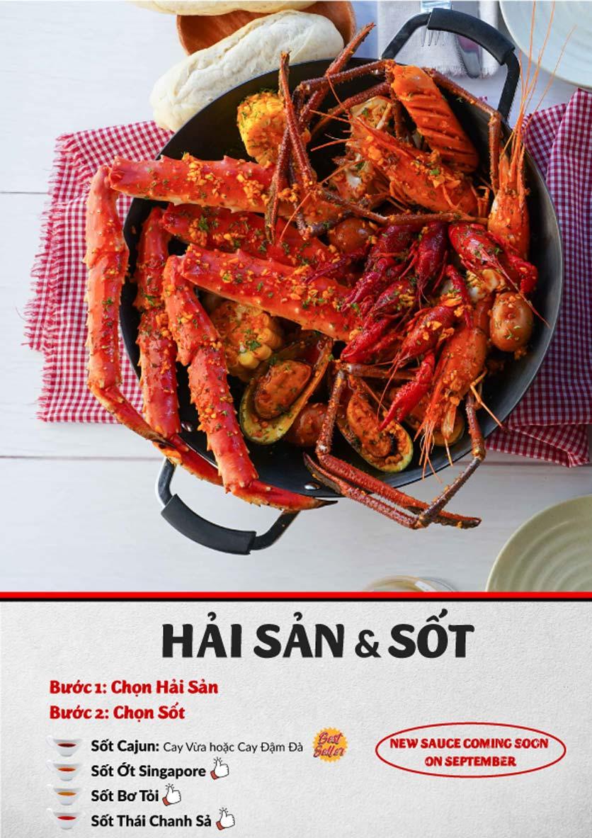 Menu Lobster Bay – Nhà hàng hải sản kiểu Mỹ – Nguyễn Tri Phương 19