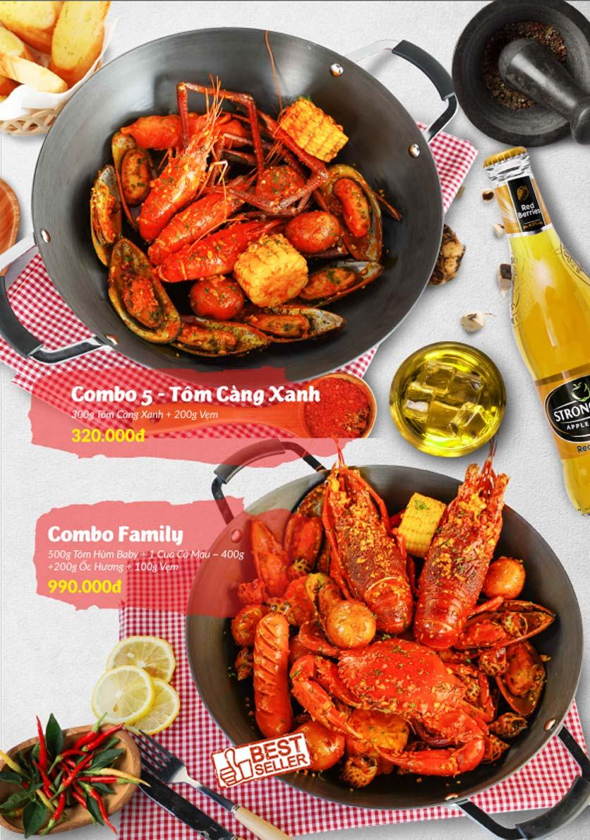 Menu Lobster Bay - Nhà Hàng Hải Sản Kiểu Mỹ - Kỳ Đồng 24